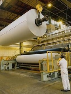 Paper production - India