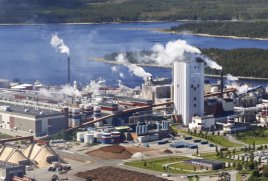 Husum pulp and paper mill