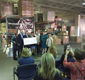 International Paper donates $1.25 million to Mid-South Food Bank