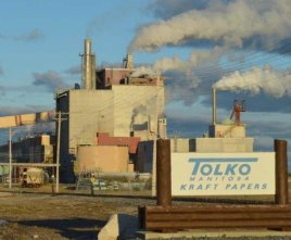 Tolko - The Pas paper mill