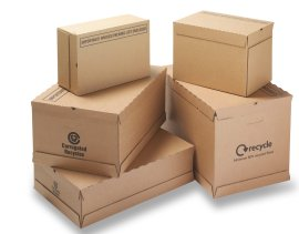 Corrugated packaging - boxes