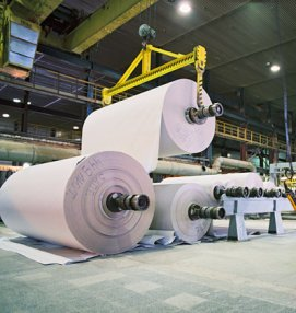 Ilim Group paper production in Russia