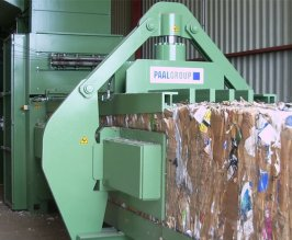 PAAL channel baling press