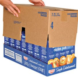Retail ready packaging - corrugated boxes