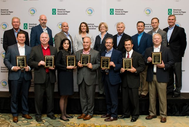 The 2017 AF&PA Sustainability Award Winners