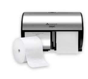 Georgia-Pacific Compact Coreless Toilet Paper and Dispensers