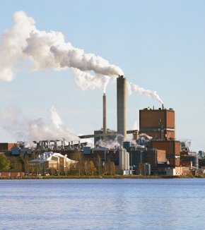 Karlsborg pulp and paper mill
