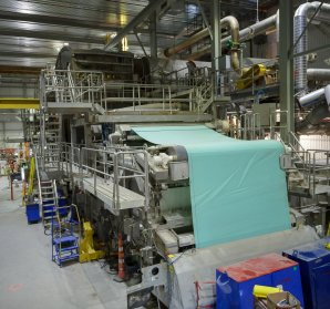 No. 8 Paper Machine Project at Crabtree Plant