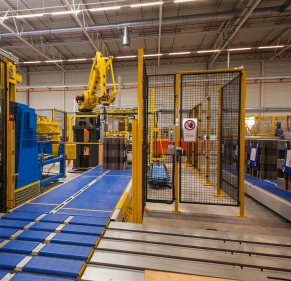 Thimm Verpackung - robotic palettiser