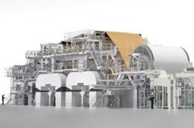 Valmet Advantage ThruAir (TAD) tissue machine