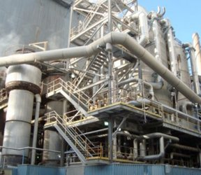 pulp and paper mill evaporator plant
