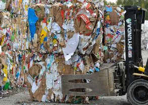 Hamburger Recycling - recovered paper
