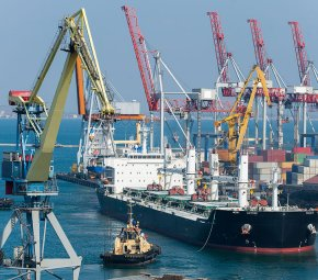 shipping port - Indonesia