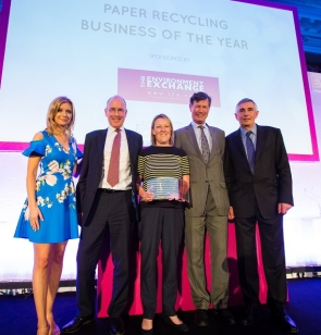 DS Smith paper recycling award