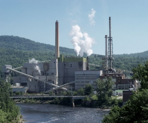 Rumford paper mill in Maine