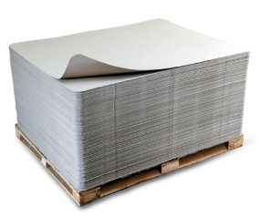 Sonoco flatstack uncoated recycled paperboard (URB)