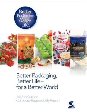 Sonoco: Better Packaging, Better Life – for a Better World