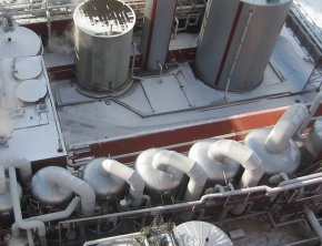 Stora Enso evaporation plant at Enocell Mill