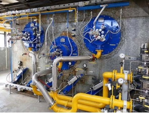 Zanders paper mill conversion to natural gas