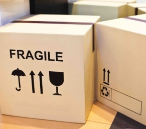 Corrugated Boxes - Fragile Contents