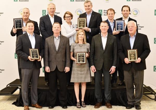 2019 AF&PA Sustainability Award Winners