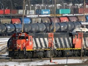 CN Rail in Canada
