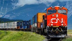 CN Rail intermodal