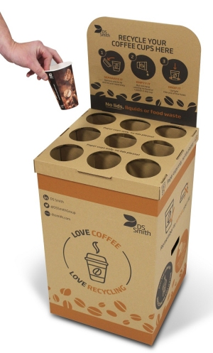 DS Smith's Coffee Cup Drop Box