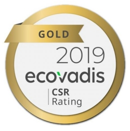 EcoVadis Gold Rating 2019