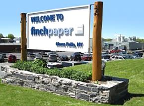 Finch Paper in Glens Falls, New York