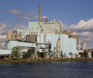 Fort Frances paper mill