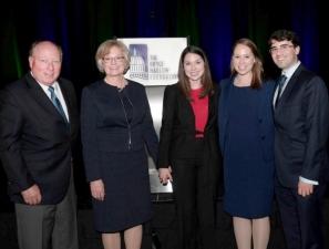 Donna Harman and family