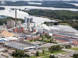 Iggesund mill, Sweden