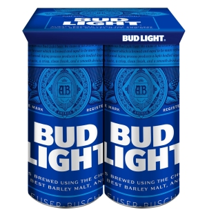 KeelClip on cans of Bud Light