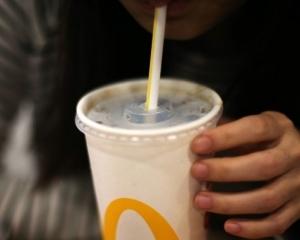 McDonald's plastic straws