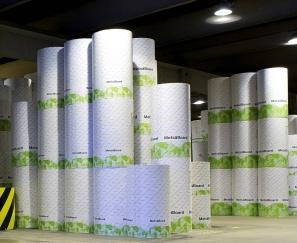 Metsa Board - reels of kraftliner