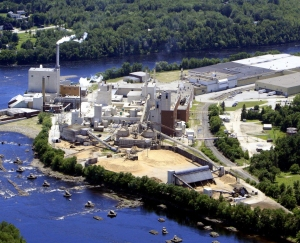 ND Paper's pulp mill in Old Town, Maine