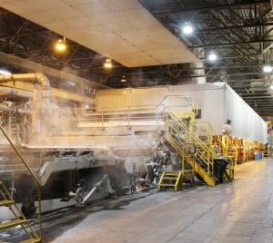 ND Paper Rumford Mill R9 pulp machine