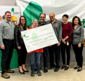 Resolute donation to Special Olympics Canada 2020 Winter Games