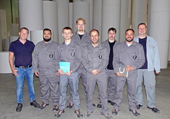 Zanders apprentices 2019
