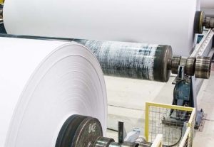 coated paper production