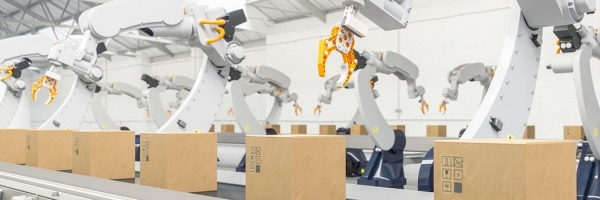 corrugated packing - automated and roboticized machinery