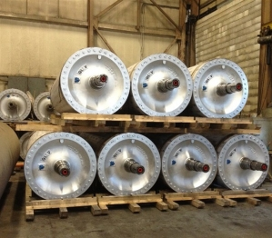 Hudson Falls foundry - dryer cylinders