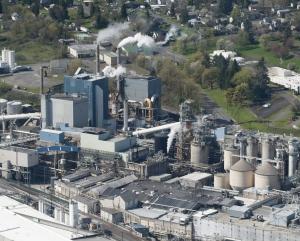 Camas paper mill