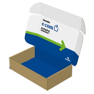 Cascades mailer box