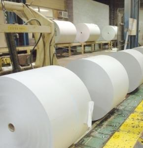 Crofton mill - rolls of paper