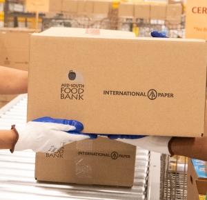 International Paper corrugated boxes