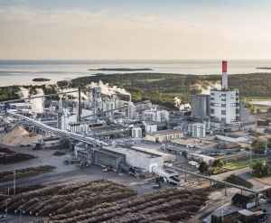 Södra's Värö pulp mill in Sweden