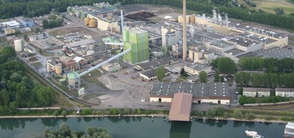 Stora Enso Maxau paper mill