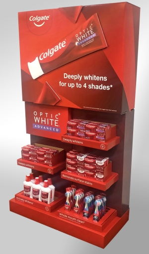WestRock - Colgate point-of-sale display